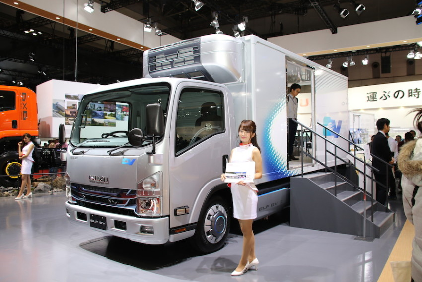 Isuzuu0027s Small EV Truck Business
