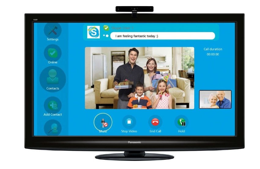 Skype to offer HD video calling on Panasonic TVs - Japan Today