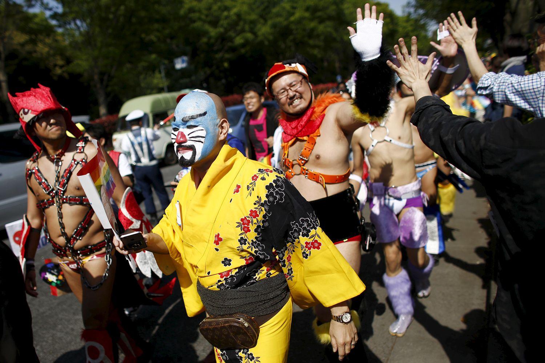 Gay Pride Halloween Costume.Rainbow Pride Japan Today