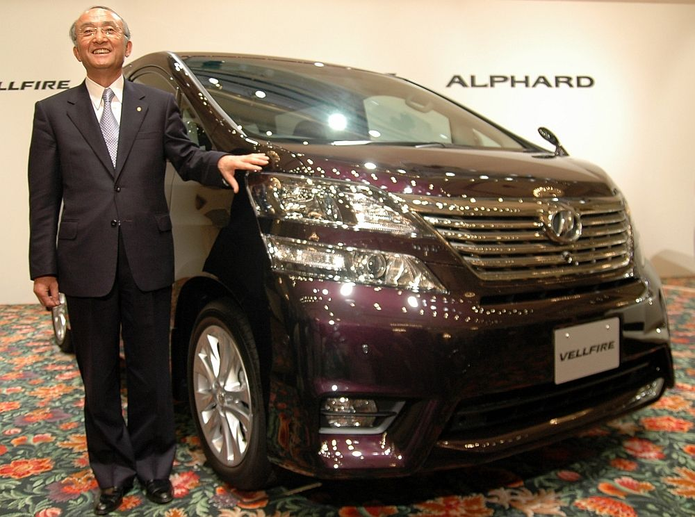 Toyota unveils new Alphard, Vellfire minivans - Japan Today