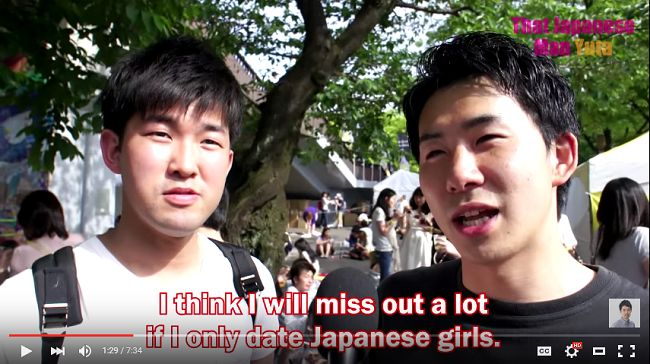 What is like dating a japanese girl
