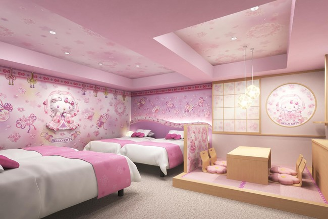 Hello Kitty Themed Rooms To Open In Tokyo Hotel Japan Today