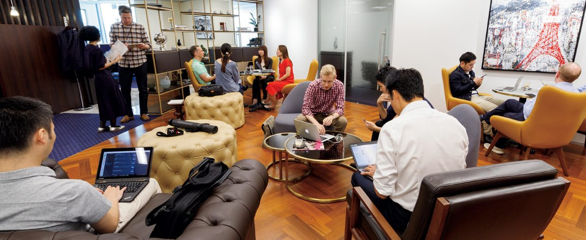 Flexible workspaces: Office-sharing takes off in Tokyo - Japan Today