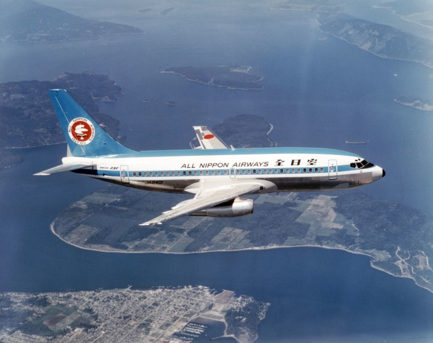 Ana Mohican Jet Returns To Skies After 20 Years Japan Today
