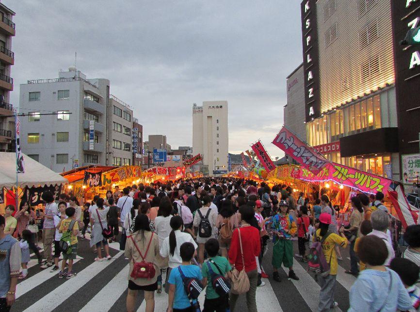 Image result for nagasaki kunchi streets