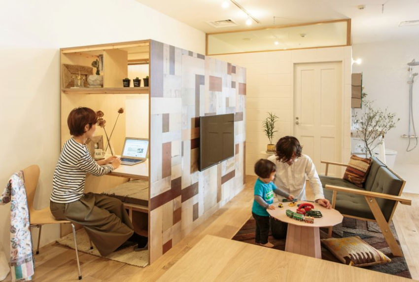 Japanese interior micro-houses and study spaces: Great for work-at ...