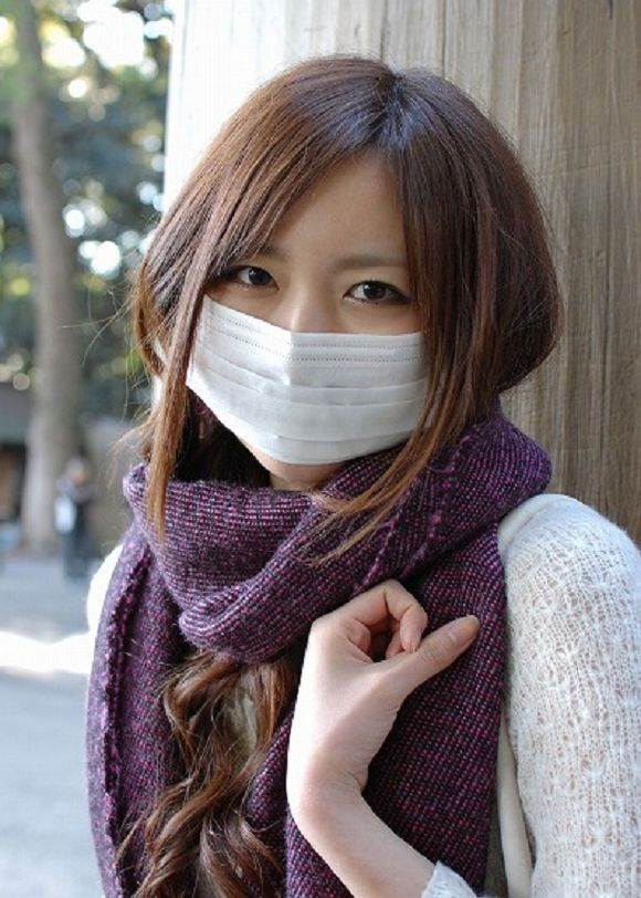 Why do Japanese people wear surgical masks? It's not always for