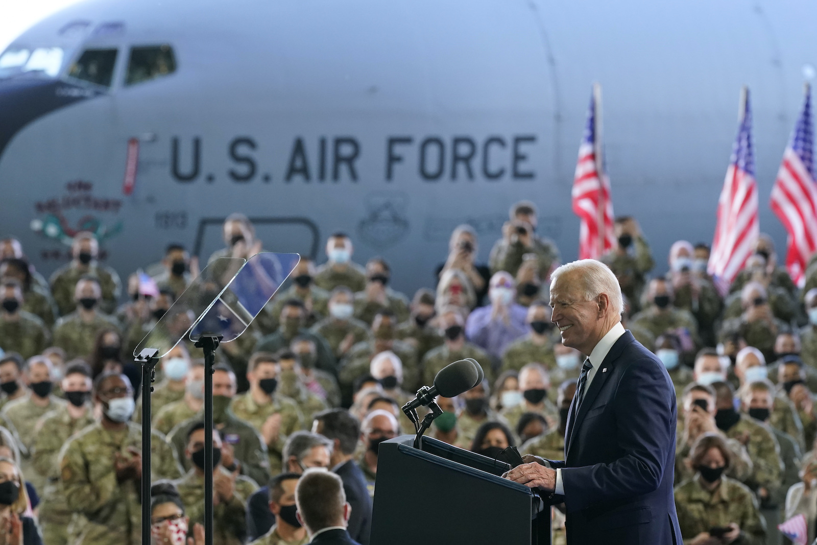 Biden warns Russia it faces 'robust' response for harmful actions as he  begins European visit - Japan Today
