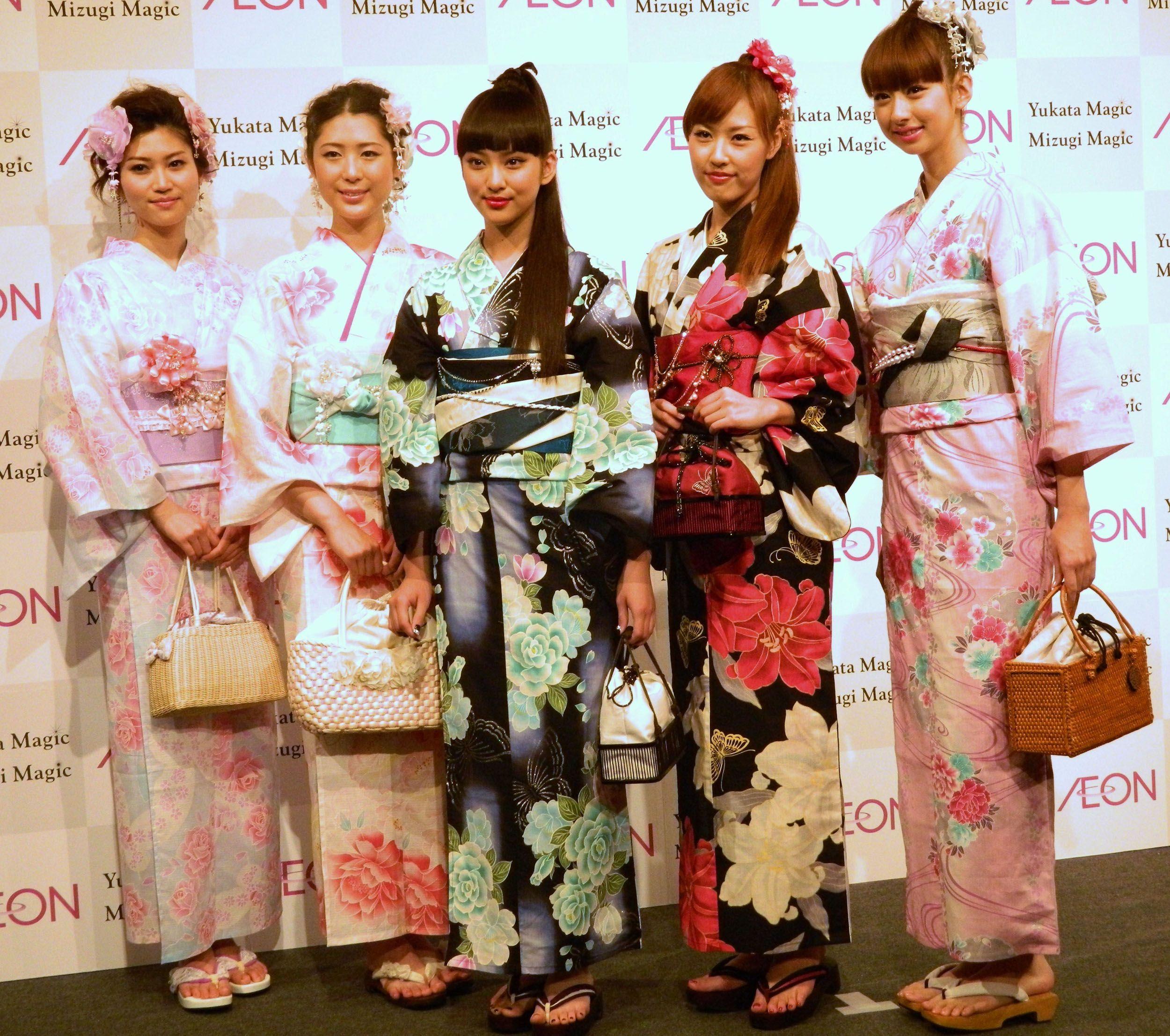 Рисунок кимоно