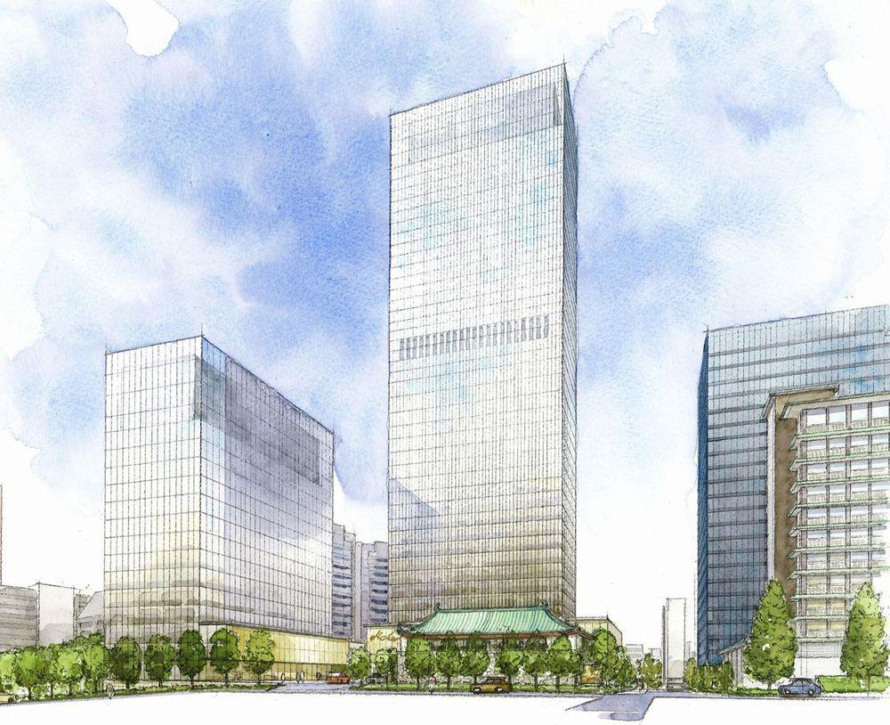 Reconstruction of hotel okura main building to start next week japan today