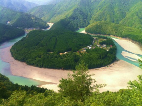 Feng Shui Village kizuro village is a hidden natural beauty and feng shui power spot