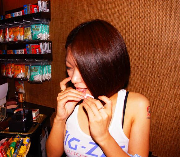 Have your tobacco rolled by y women at Japan's first 'shag bar ... Japanese Style Home Design Shag Html on
