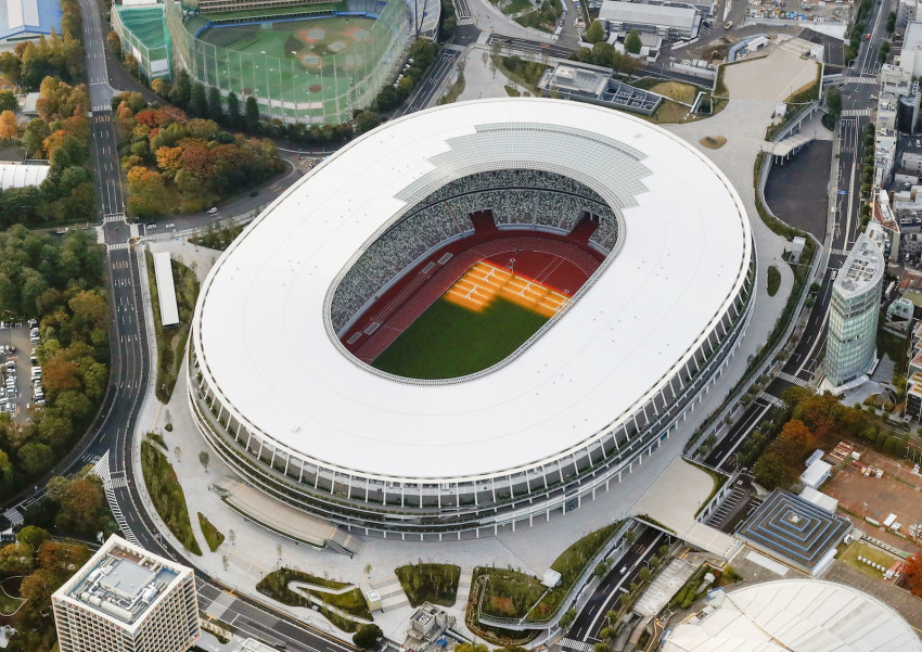 Image result for tokyo olympic stadium 2020