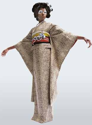 Japanese Clothes Designers | Cameroon Designer Reinvents The Kimono Japan Today