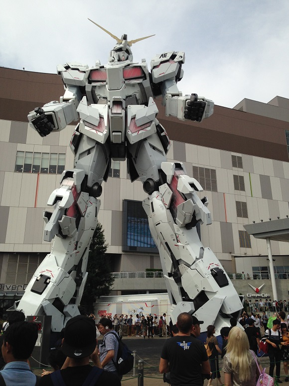 Tokyos New Giant Gundam Anime Robot Statue Unveiled