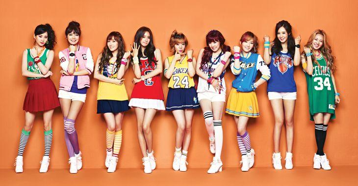Girls generation korean group