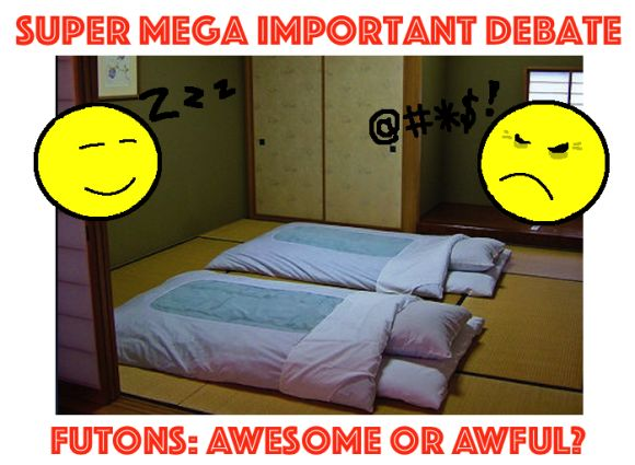 Are Futons Awesome Or Simply Awful