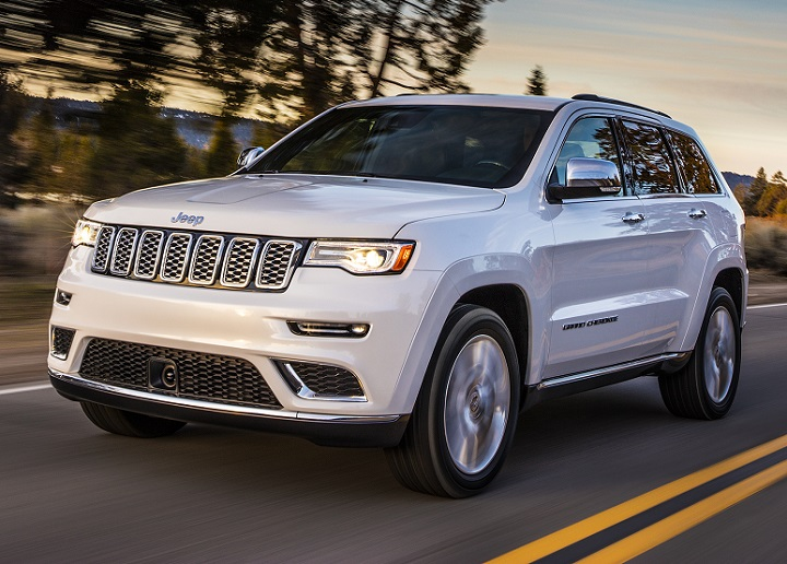 2017 Jeep Grand Cherokee Qualifies For Japan's Ecocar Tax