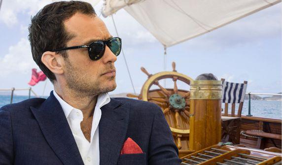 Jude Law and Giancarlo Giannini make 'The Gentleman's ...