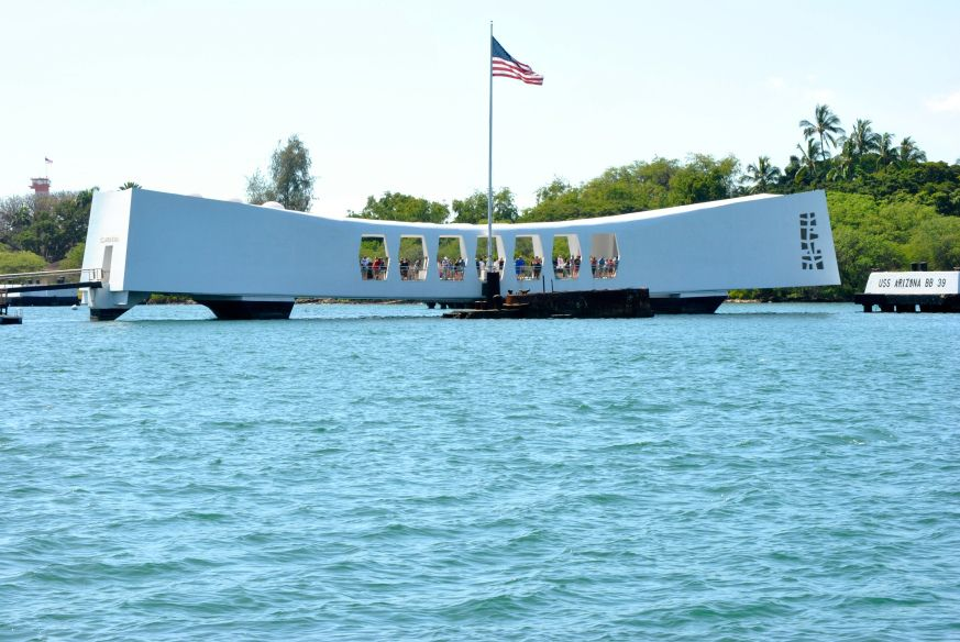 Pictures Of Pearl Harbor Memorial