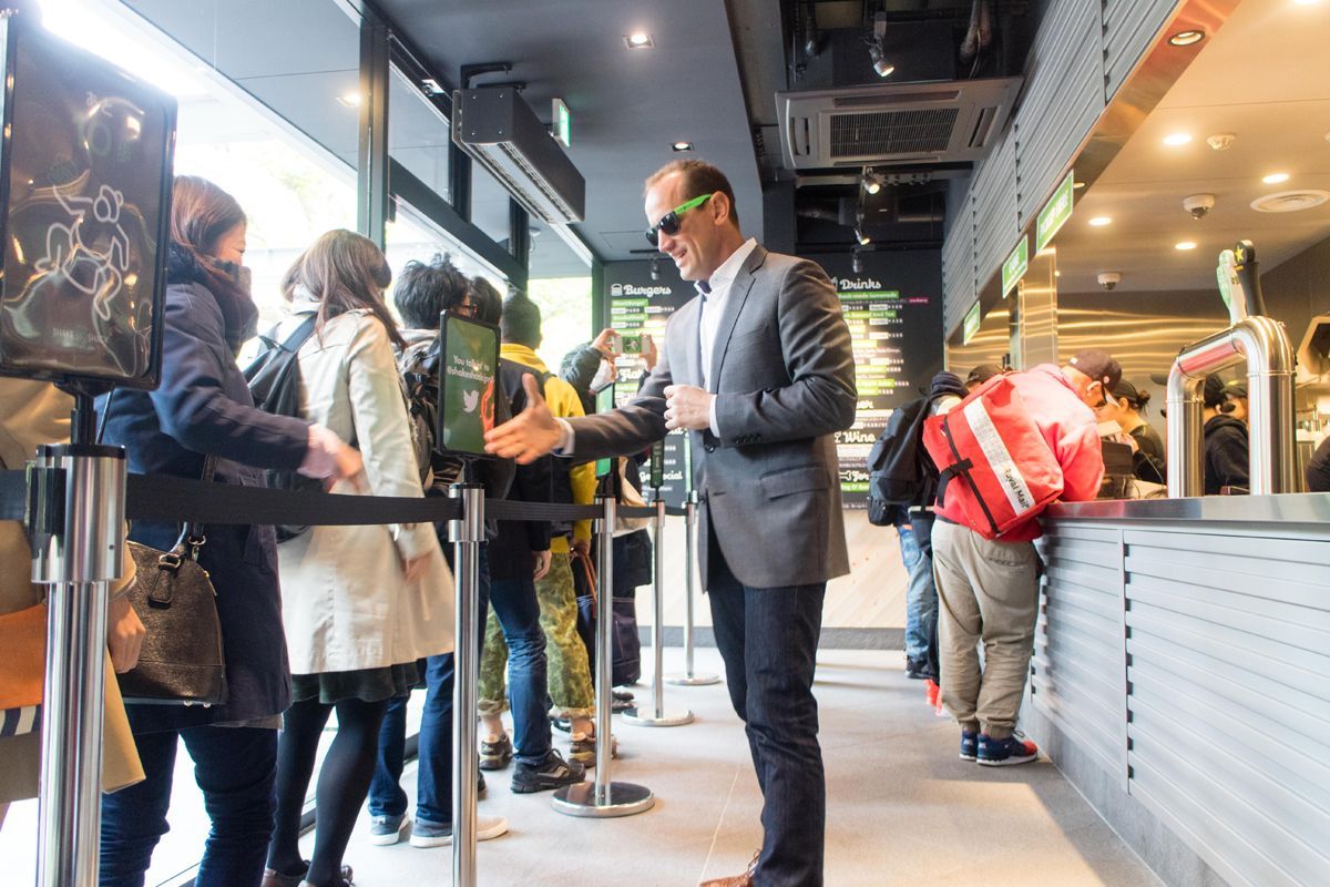 Shake Shack Celebrates Opening Of First Store In Japan Japan Today