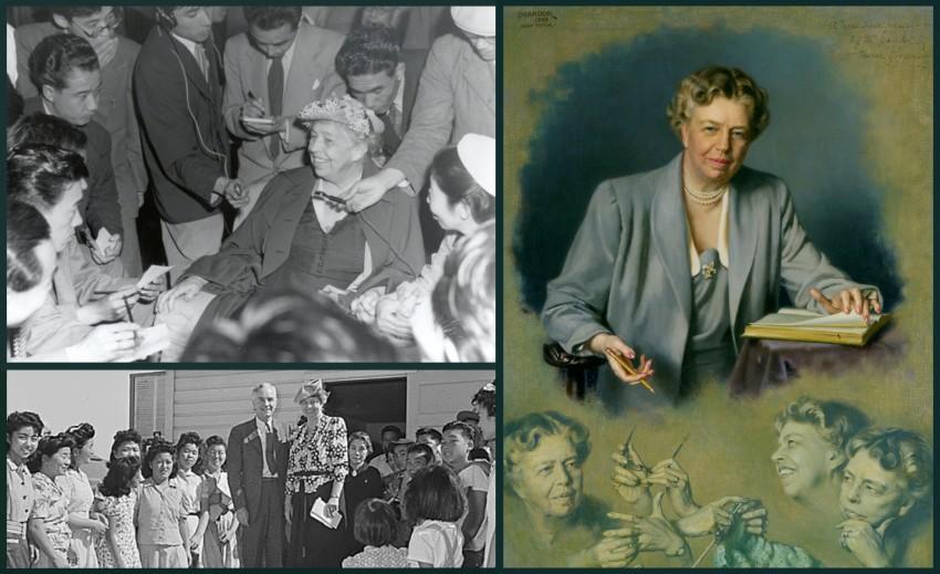 Eleanor Roosevelt in Japan 1953