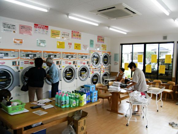 Coin Laundries In Japan More Popular Than Ever But What