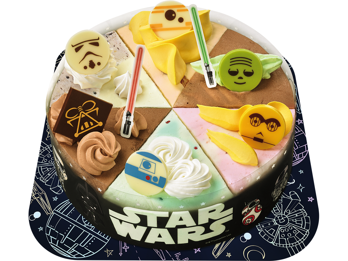 Wondrous Baskin Robbins Japan Celebrates New Star Wars Release With Birthday Cards Printable Benkemecafe Filternl