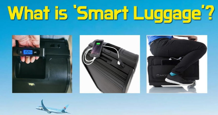 taille 40 49b05 f06ed Korean Air regulates smart luggage with lithium-ion batteries ...