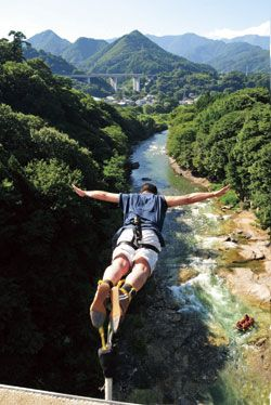 Bungee Jumping Take The Plunge In Gunma Japan Today - Take the plunge 8 best places in the world to bungee jump