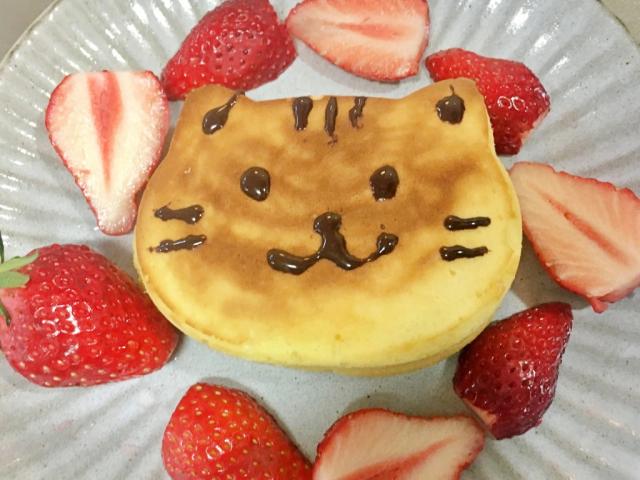 Japanese Cat Pancakes