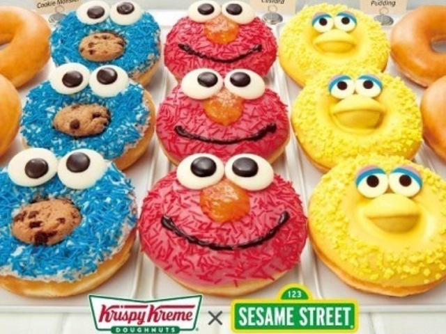 Meet your favorite Sesame Street characters at Krispy Kreme