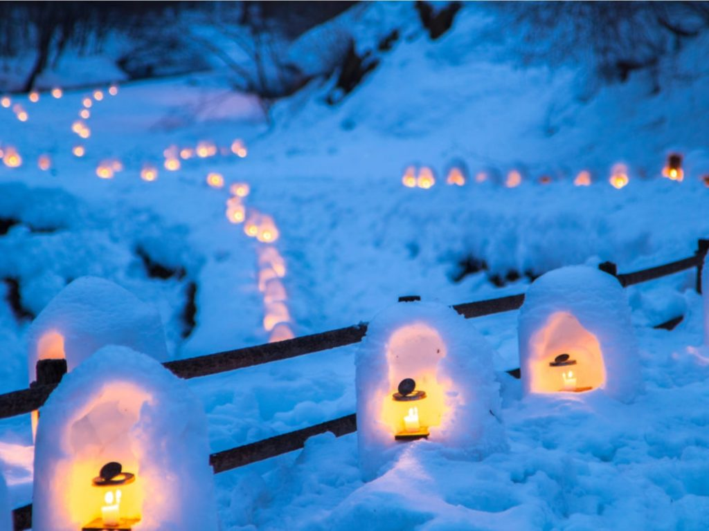 9 great snow festivals to see in japan japan today. Black Bedroom Furniture Sets. Home Design Ideas