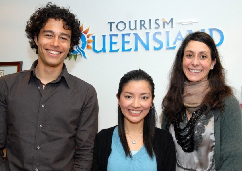 Three in Japan chosen as semifinalists for Hamilton Island